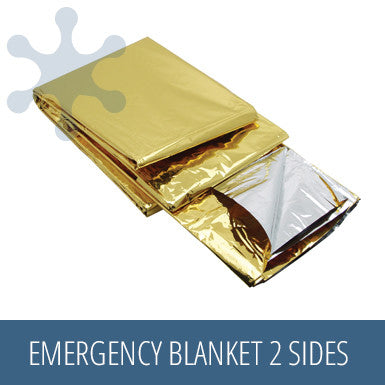Baladeo Emergency Blanket 2 Sides (Gold / Silver)