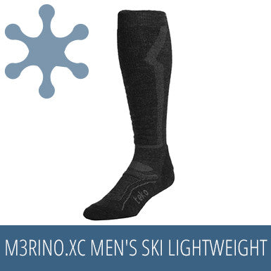 TEKO M3RINO.XC Men's Ski Lightweight - Charcoal / Grey