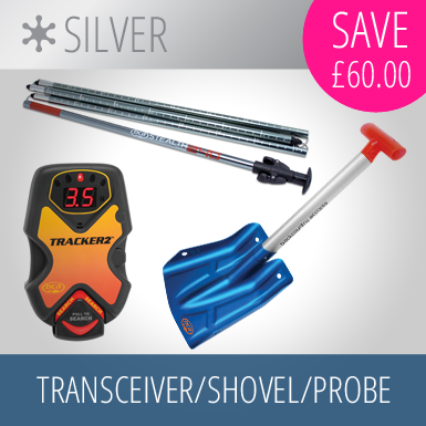 Transceiver/Shovel/Probe Silver Package