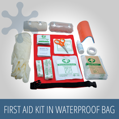 Baladeo First Aid Kit with waterproof bag