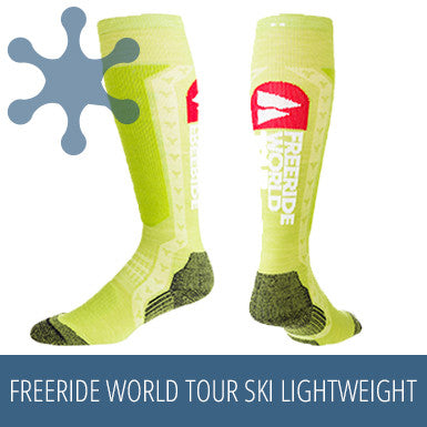 TEKO SIN3RGI Freeride World Tour Ski Lightweight - Kiwi
