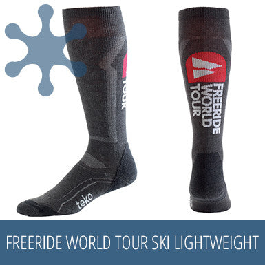 TEKO SIN3RGI Freeride World Tour Ski Lightweight - Black