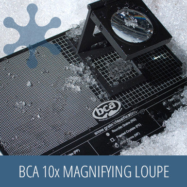 BCA 10x Magnifying Loupe, snow gear, safety kit