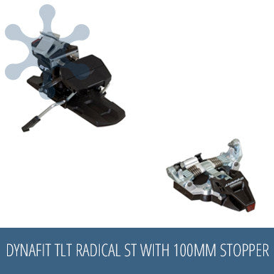 Dynafit TLT Radical ST with stopper 100mm