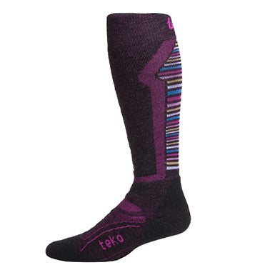 TEKO M3RINO.XC Women's Ski Medium - Charcoal / Azalea