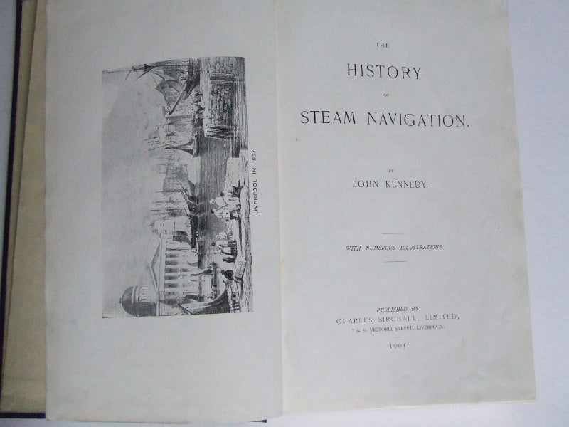 The History of Steam Navigation