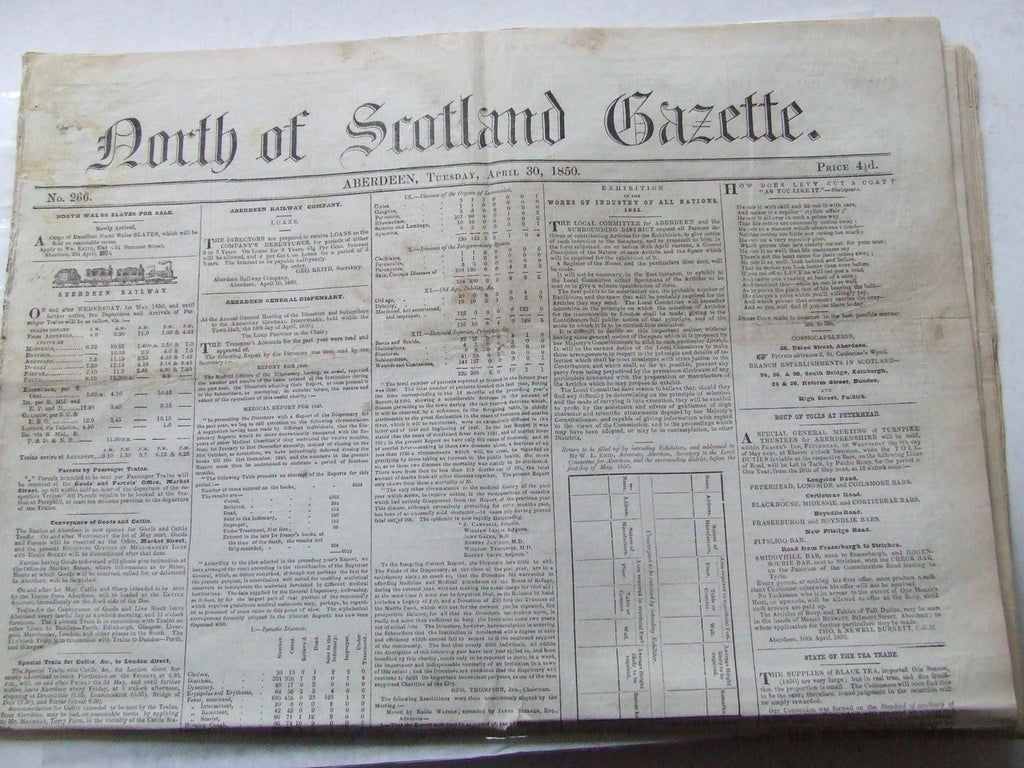 North of Scotland Gazette. no. 266.