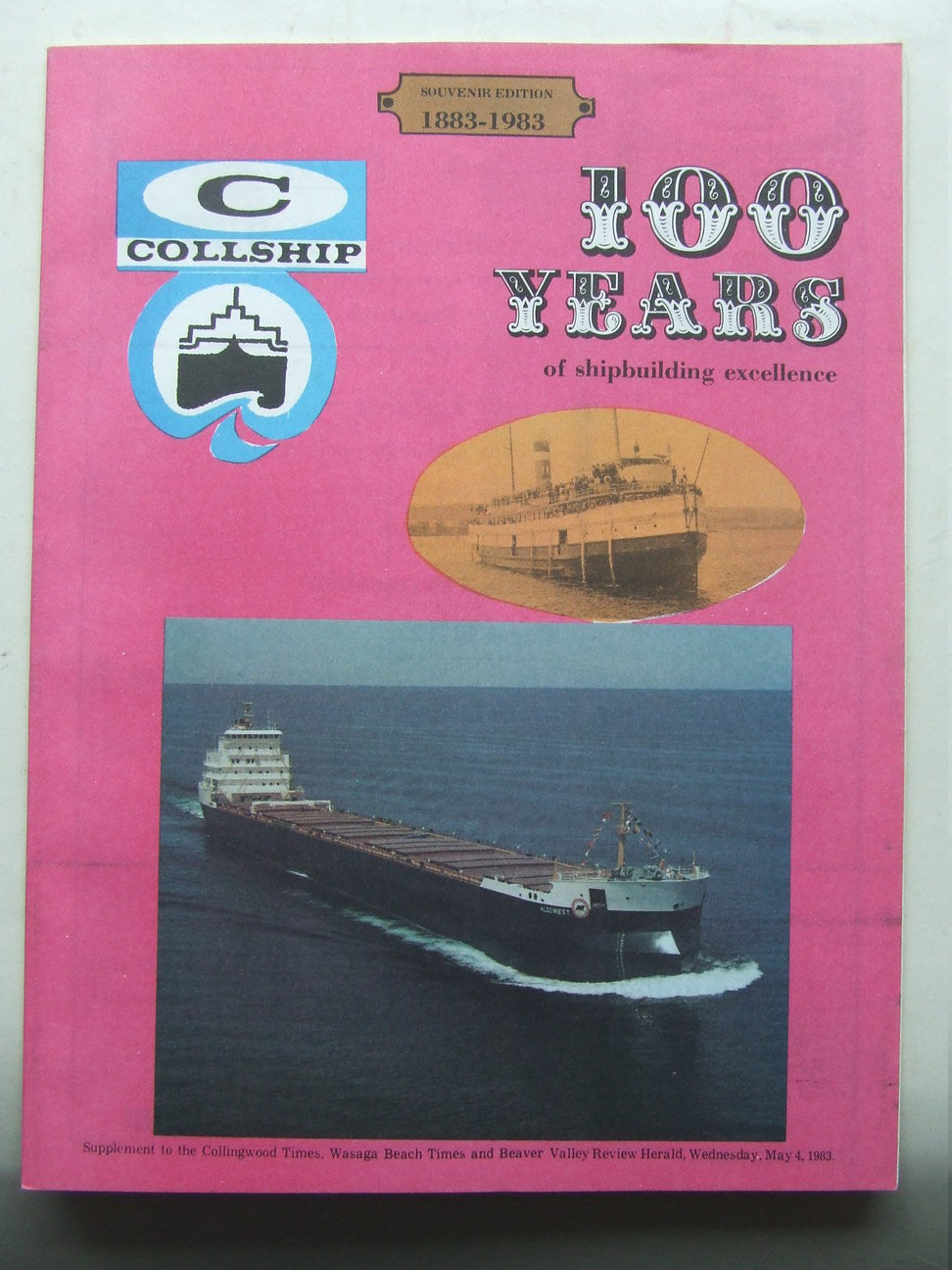 Collship, 100 years of shipbuilding excellence