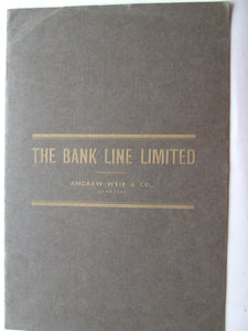 The Bank Line Limited, Andrew Weir & Co., Managers