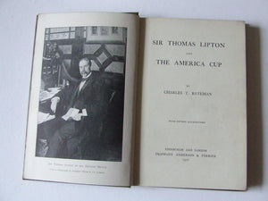 Sir Thomas Lipton and the America Cup