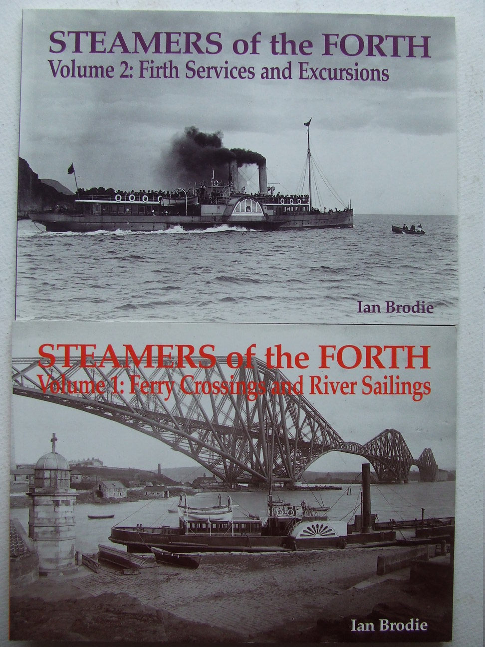 Steamers of the Forth [photographs]