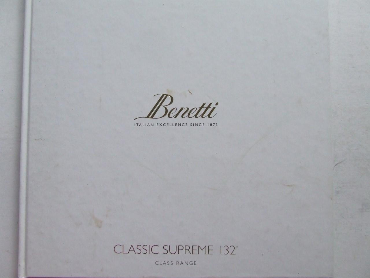 Benetti, Italian excellence since 1873