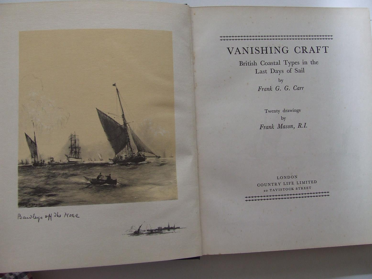 Vanishing Craft, British coastal types in the last days of sail