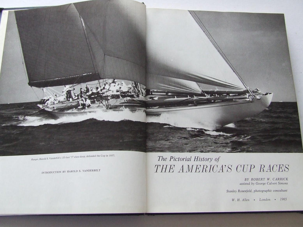 The Pictorial Histories of the America's Cup Races