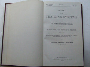 Report on the Training Systems for the Navy and Mercantile Marine of England