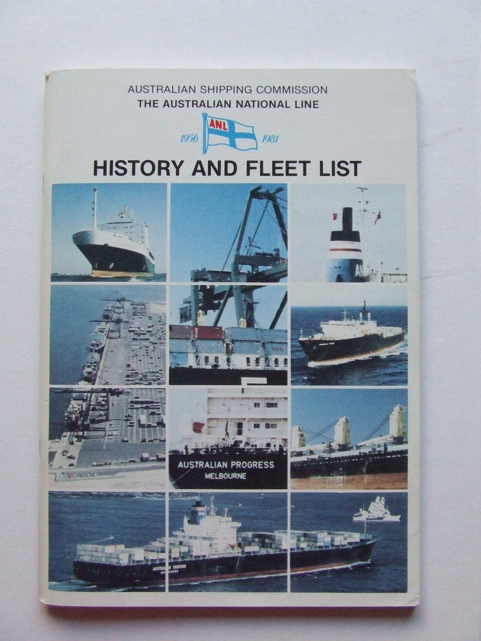 Australian Shipping Commission, the Australian National Line 1956-1981