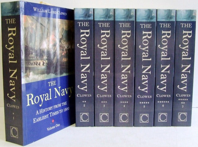 The Royal Navy, a history from earliest times to the present