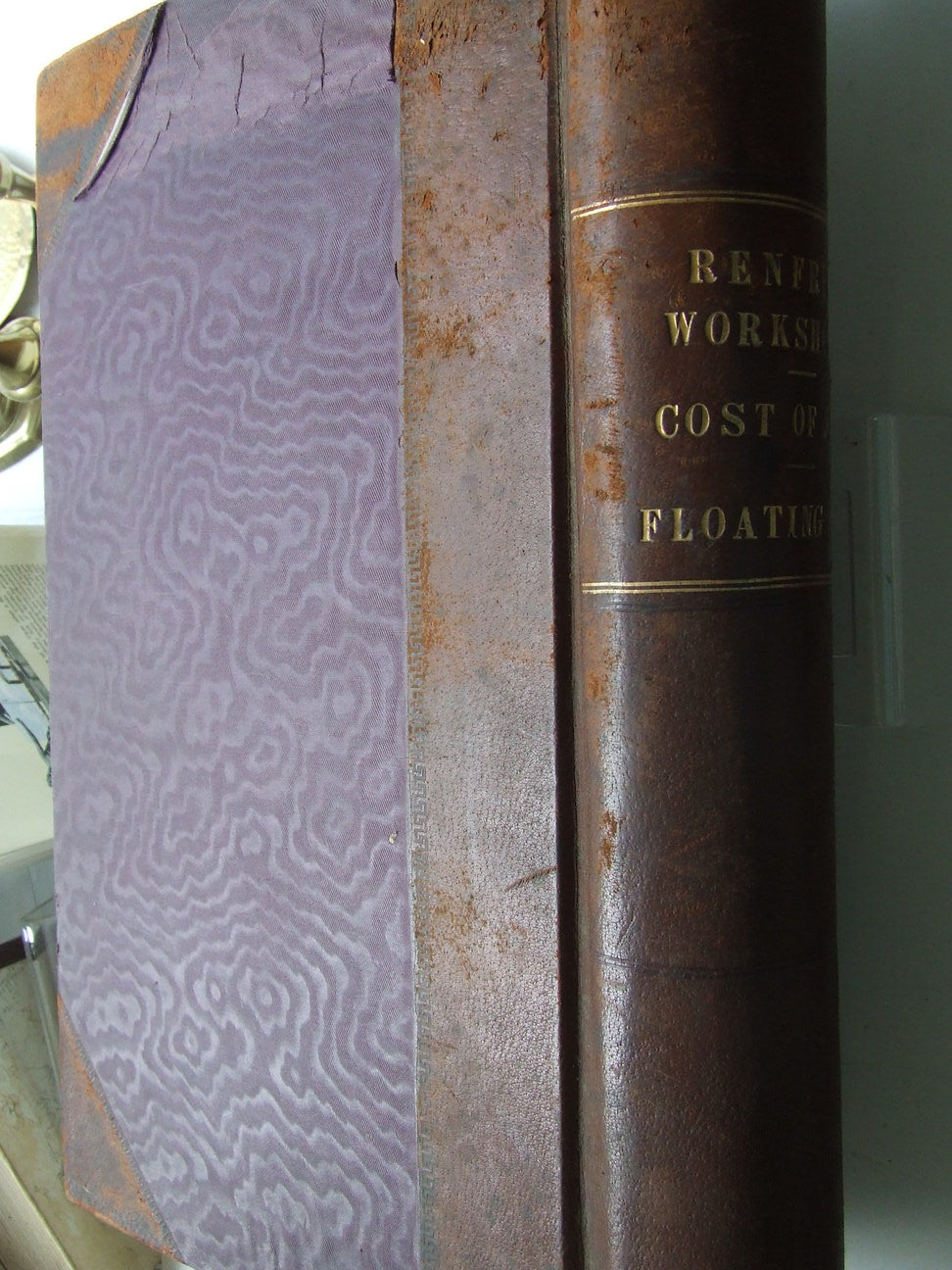 Clyde Navigation Trust. three large ledger volumes