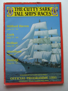 The Cutty Sark Tall Ship Races - Official Programme 1991