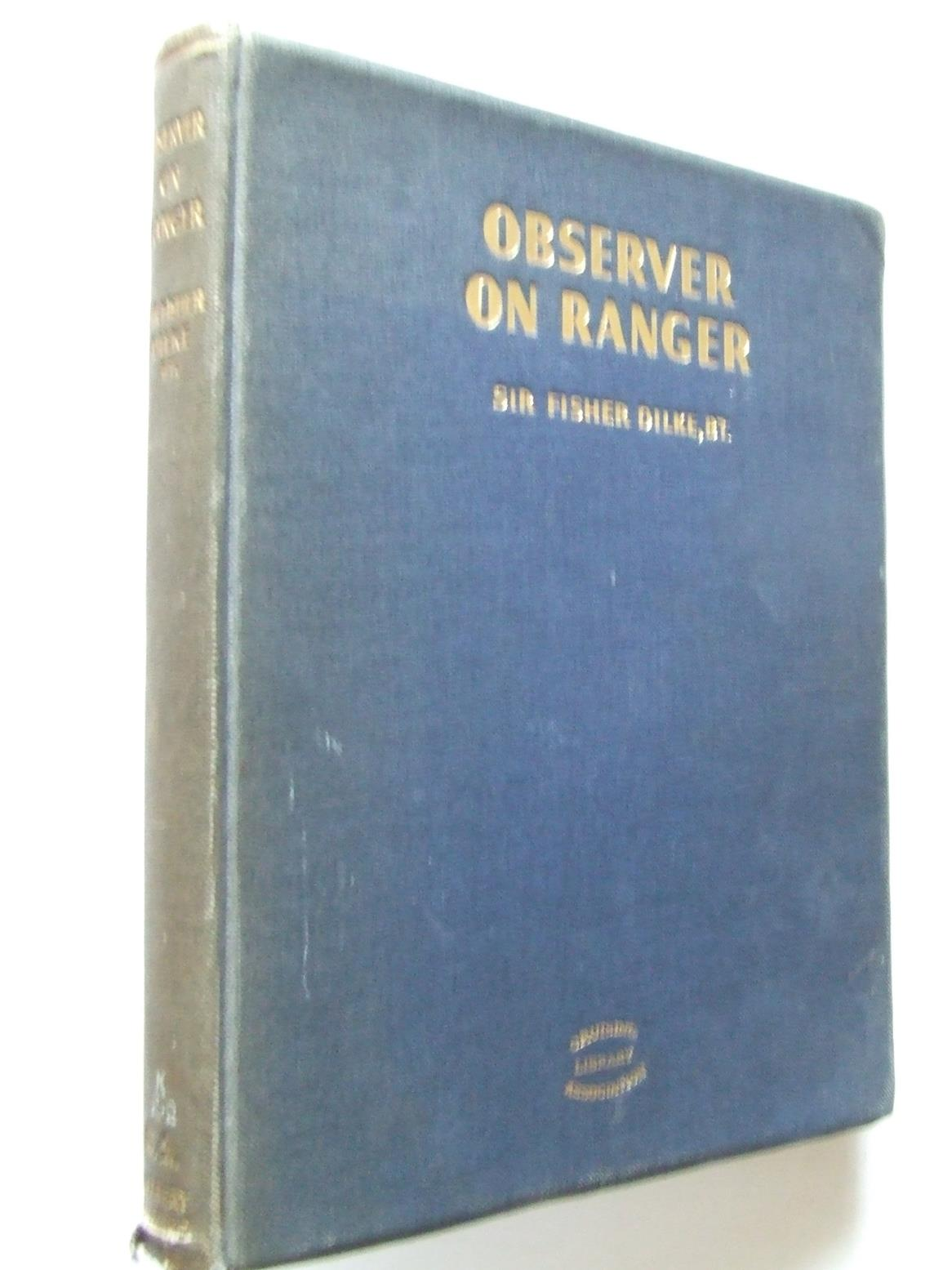 Observer on Ranger during the races for the America's Cup 1937