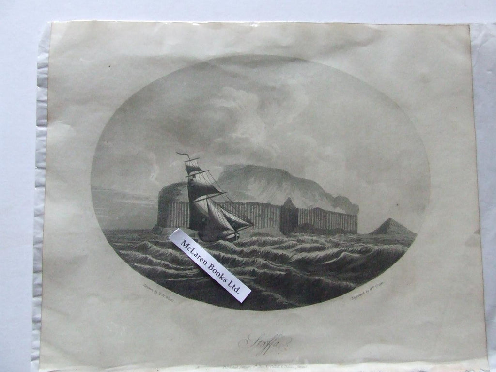 Staffa - aquatint