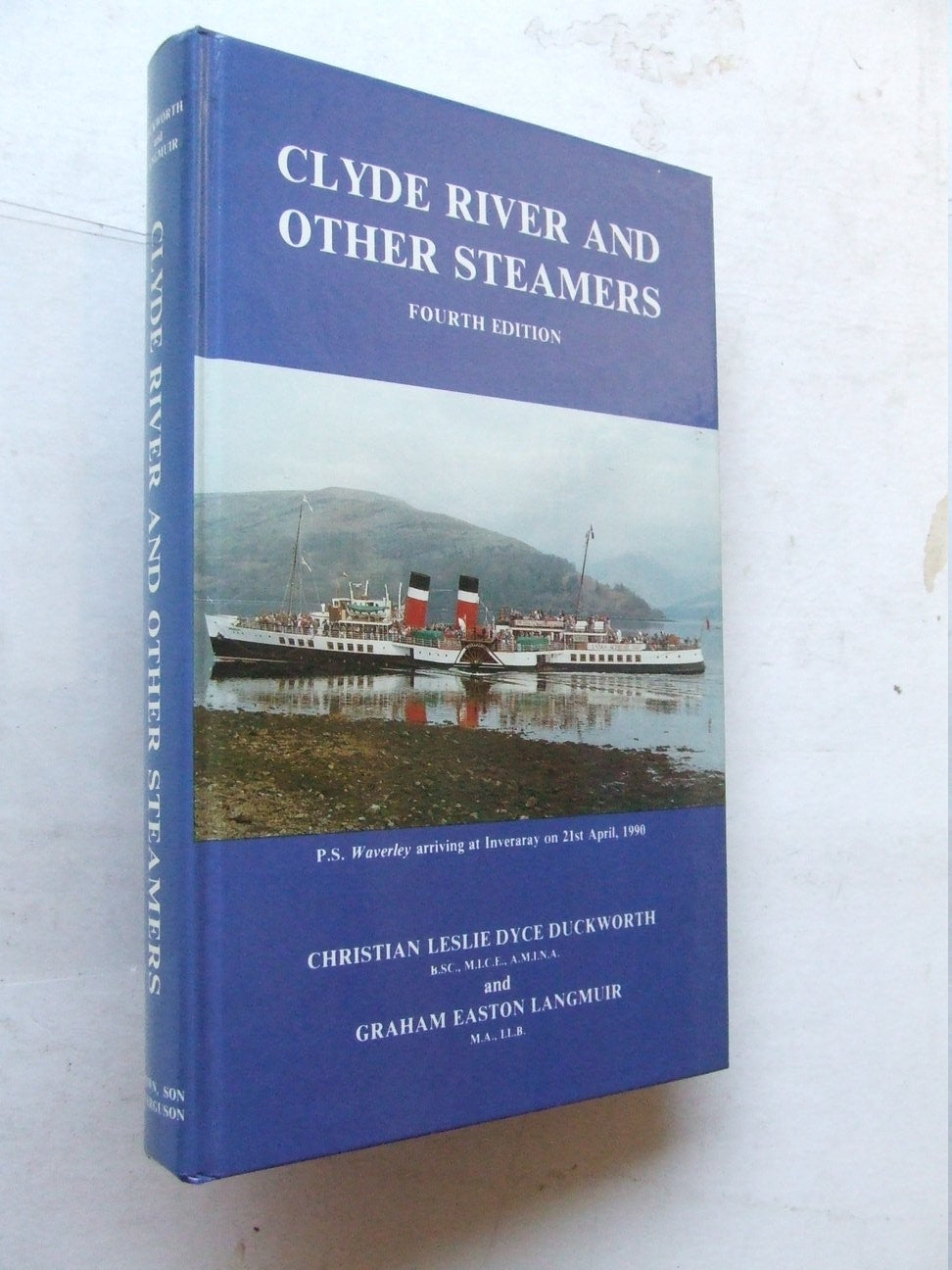 Clyde River and Other Steamers  -  4th edition