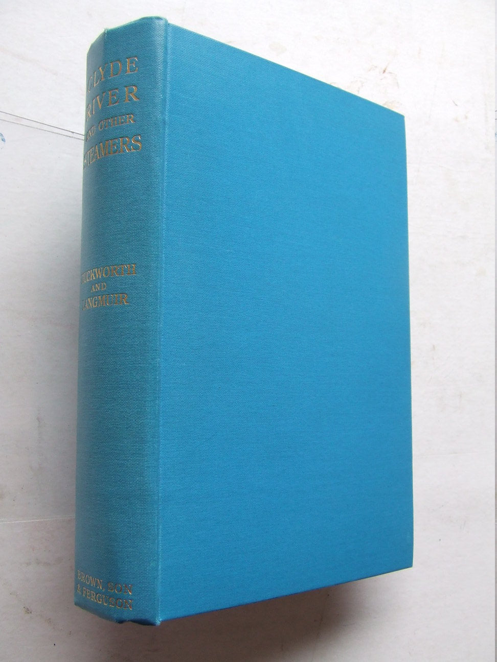 Clyde River and Other Steamers.  1st edition