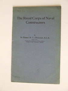 The Royal Corps of Naval Constructors