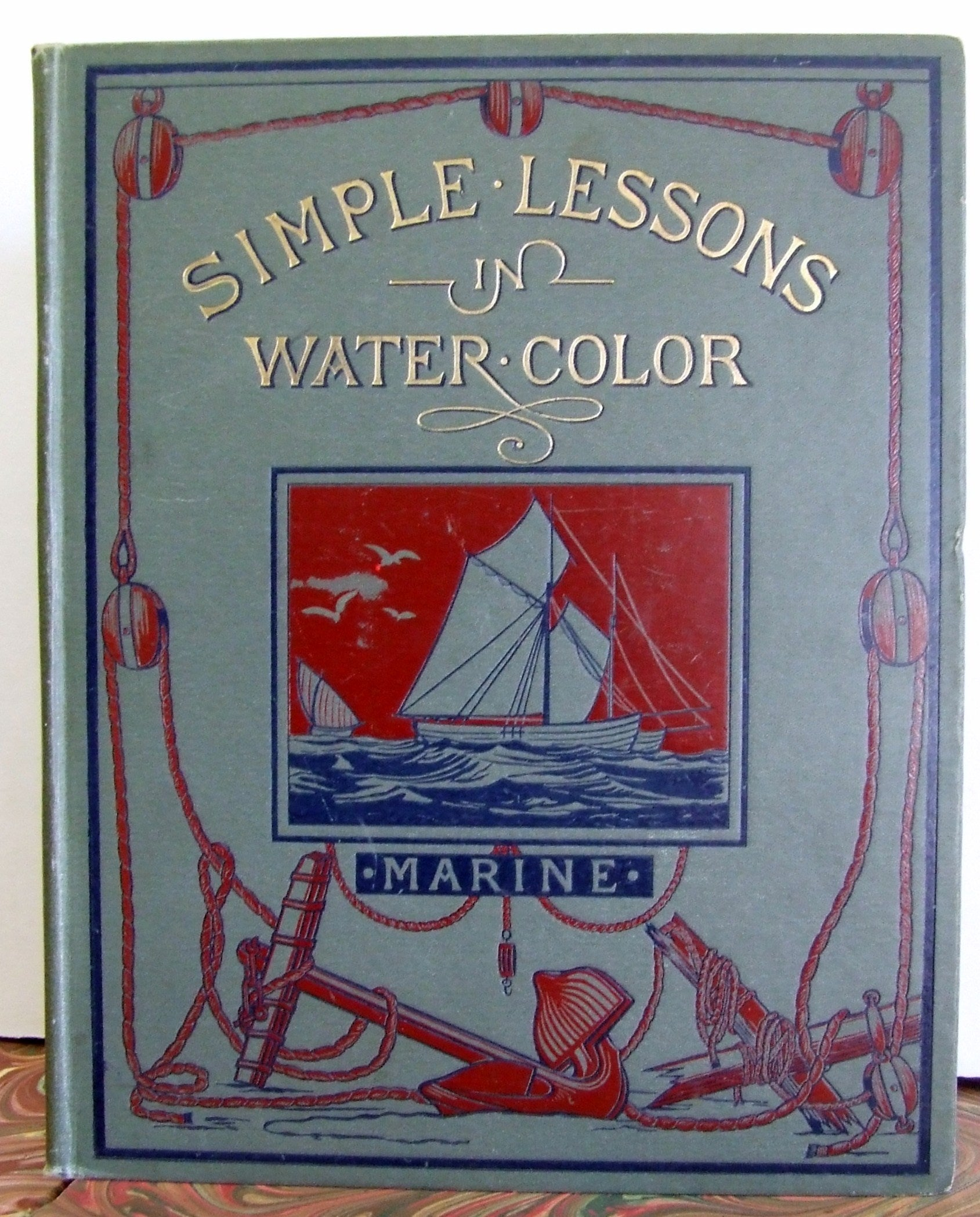 vere foster simple lessons  watercolour