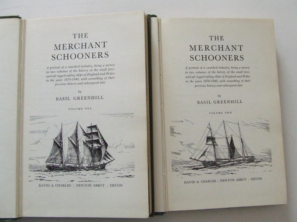 The Merchant Schooners. 2 volume set.