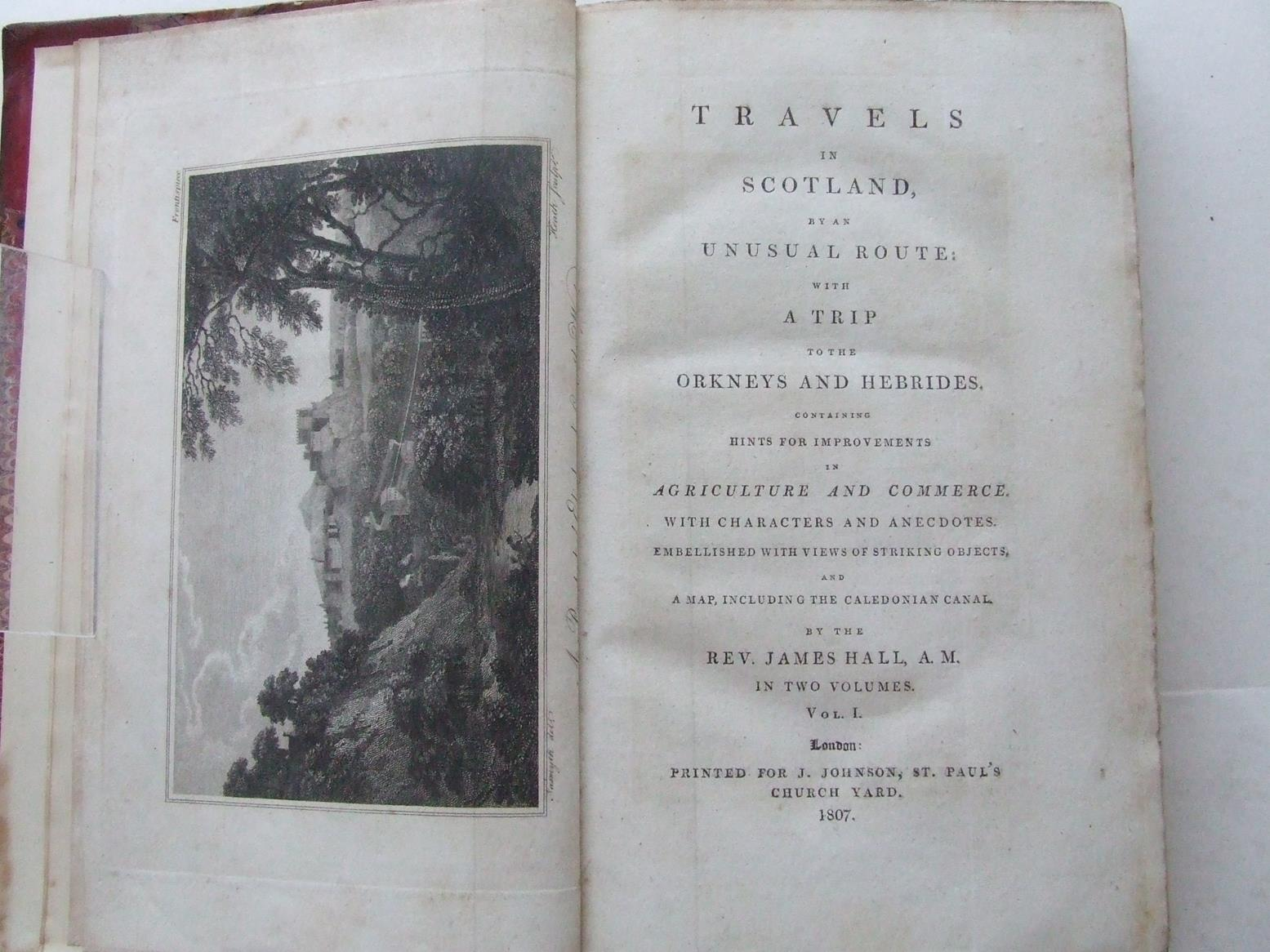 Travels in Scotland, by an unusual route