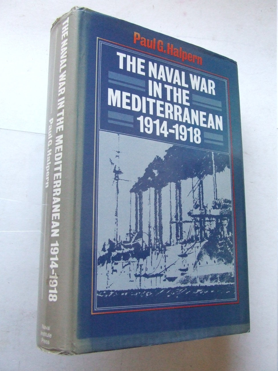 The Naval War in the Mediterranean 1914-1918