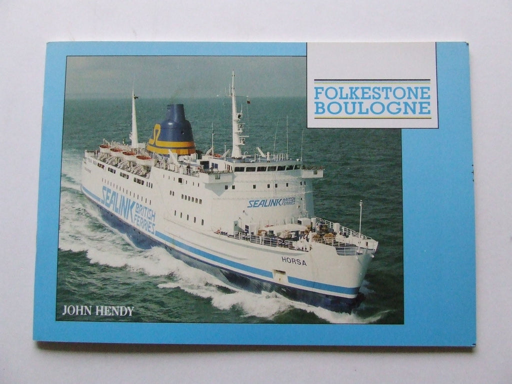 Folkestone - Boulogne [Sealink ferry services]
