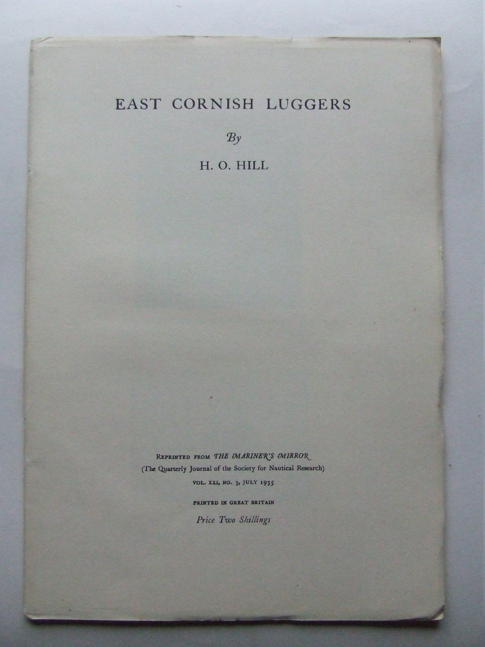 East Cornish Luggers