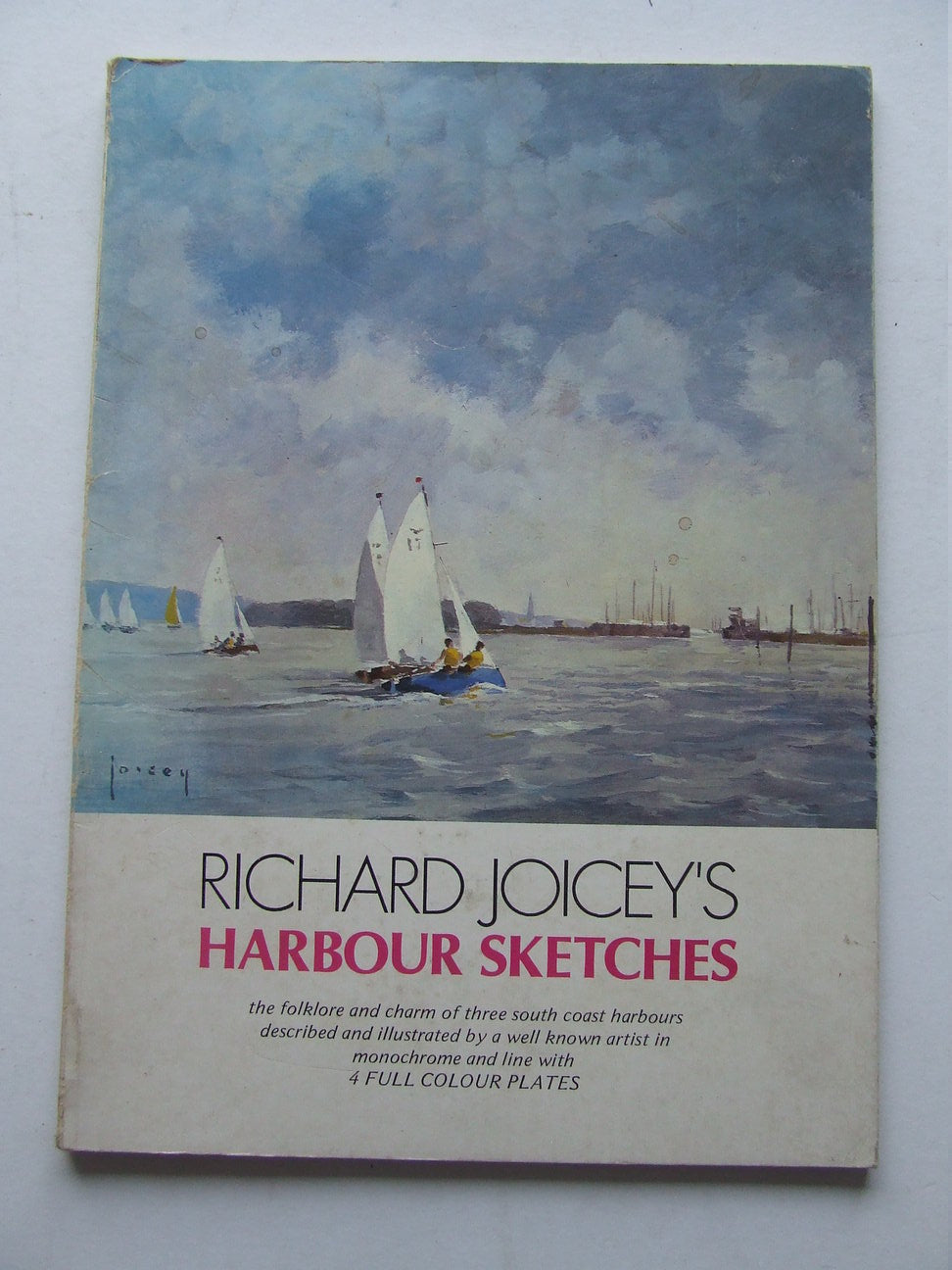 Richard Joicey's Harbour Sketches with pen and brush