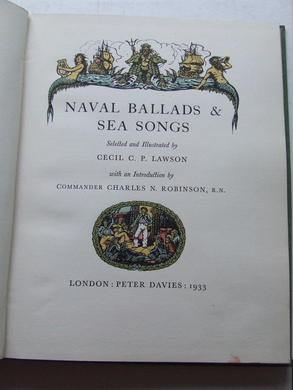 Naval Ballads and Sea Songs