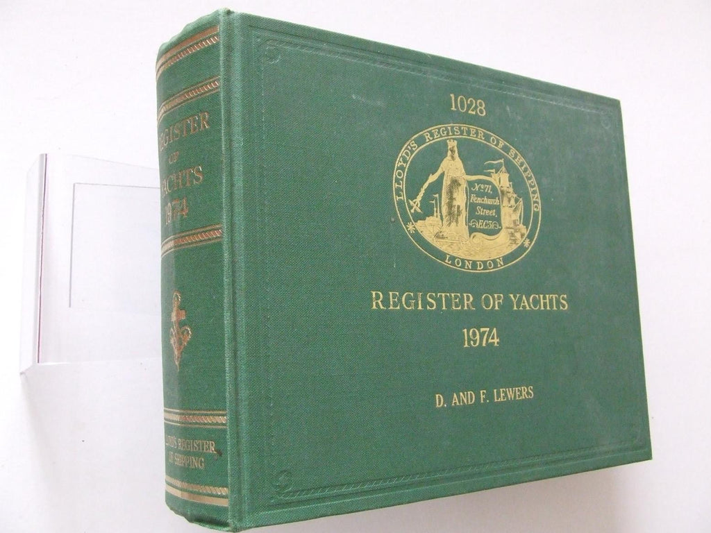 Lloyd's Register of Yachts 1974