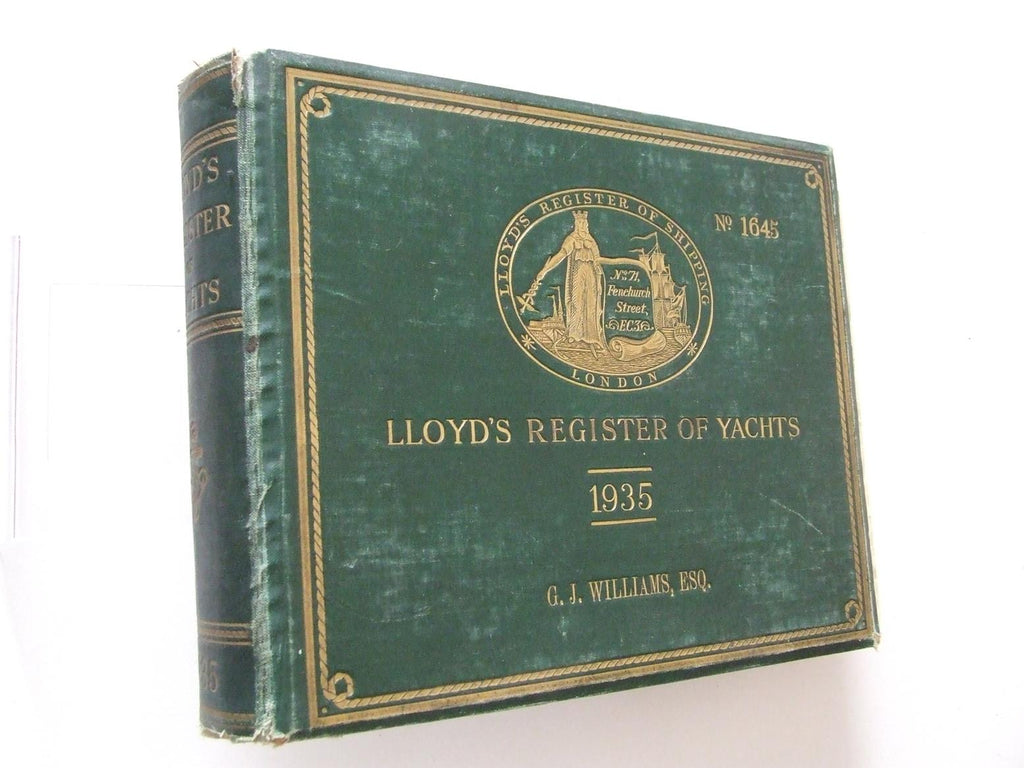 Lloyd's Register of Yachts.....1935