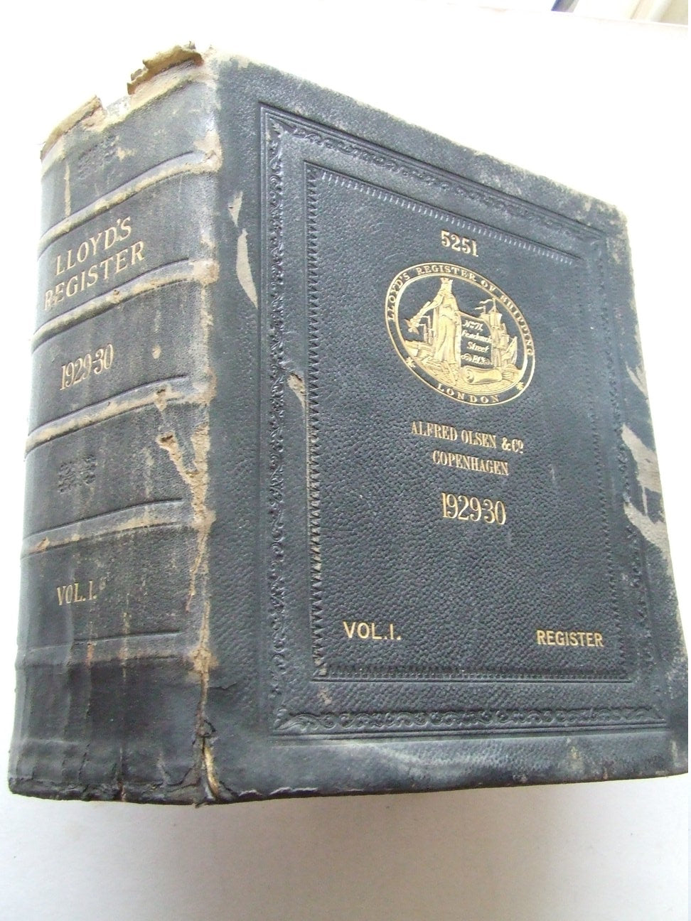 Lloyd's Register of Shipping....from 1st July 1929 to 30th June 1930
