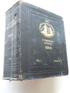 Lloyd's Register of Shipping....from 1st July 1938 to 30th June 1939