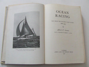 Ocean Racing, the great blue-water yacht races 1866-1935