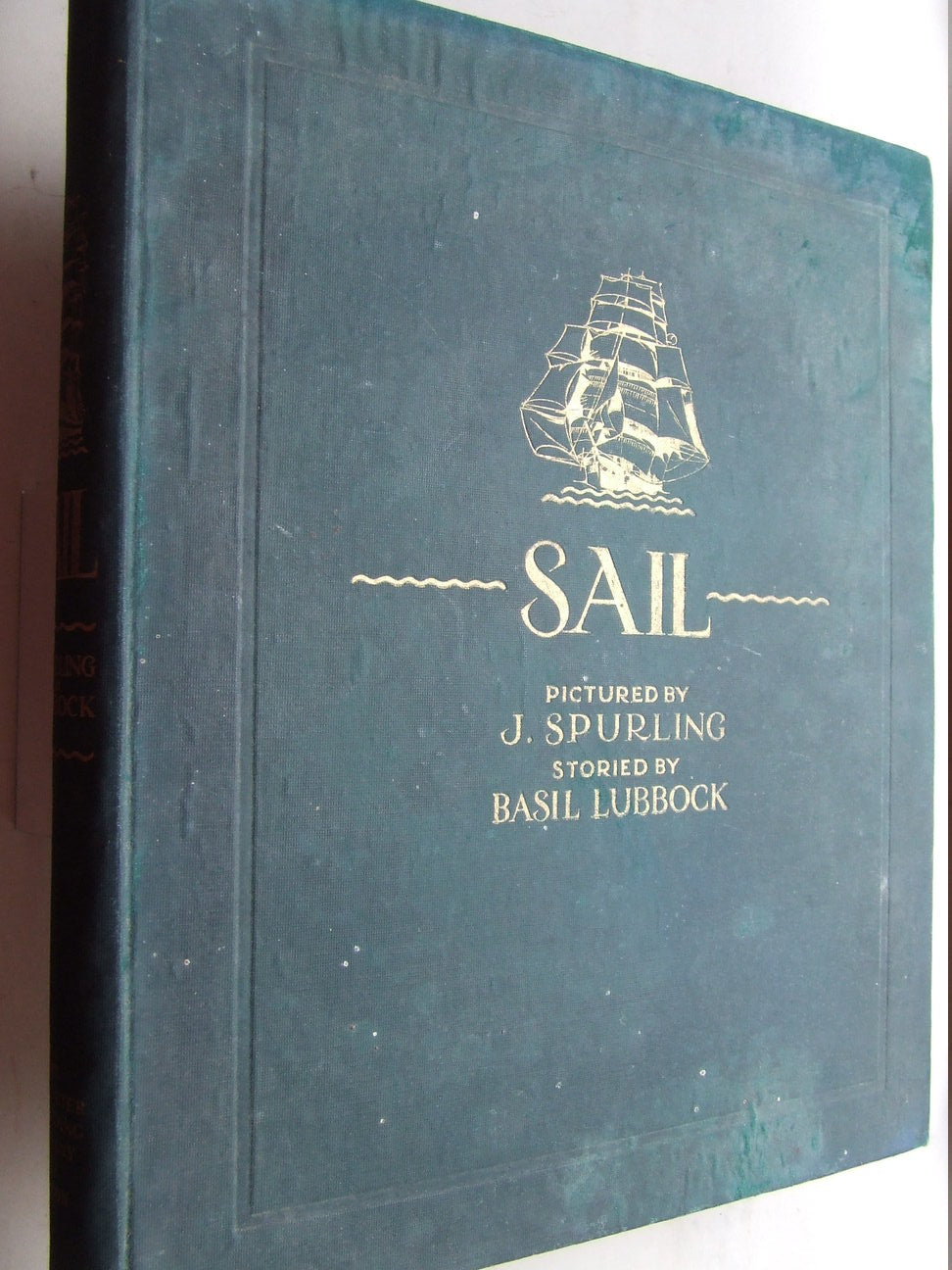 Sail, the romance of the clipper ship