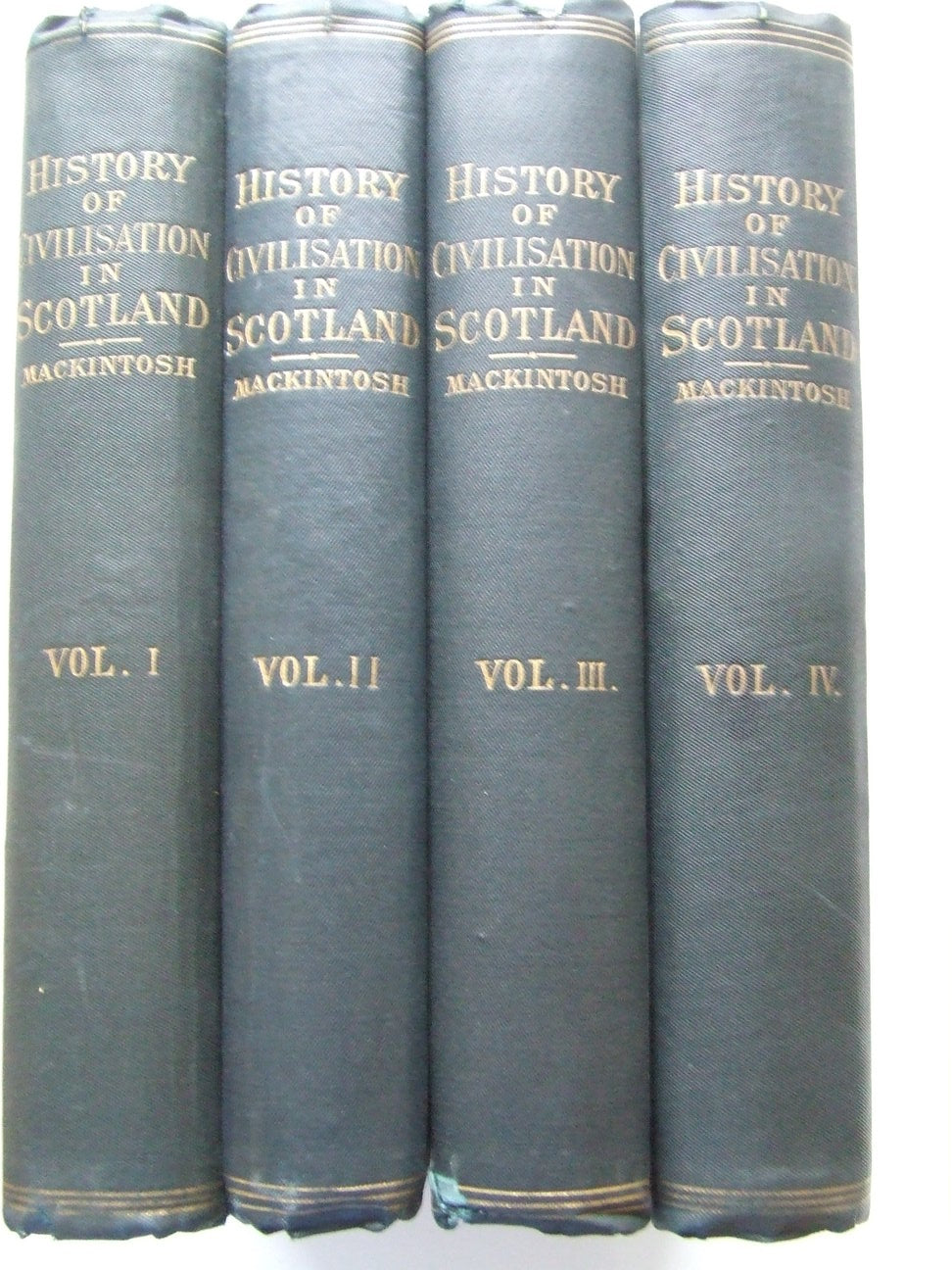 The History of Civilisation in Scotland