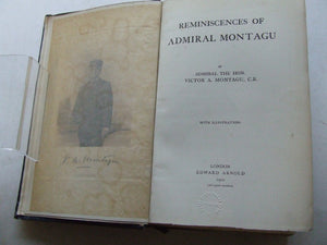 REMINISCENCES OF ADMIRAL MONTAGU