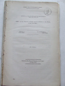 Report on Crime and Punishment in the Navy, in the year 1853