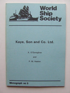 Kaye, Son and Co. Ltd.ODONOGHU022596