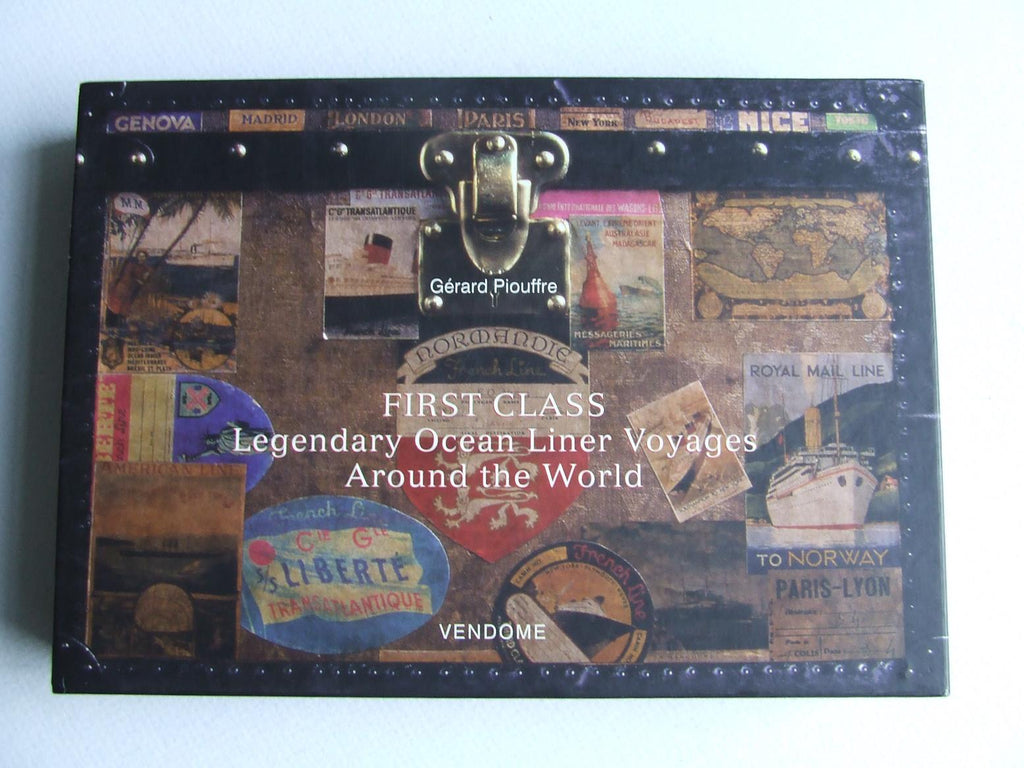 First Class, legendary ocean liner voyages around the world