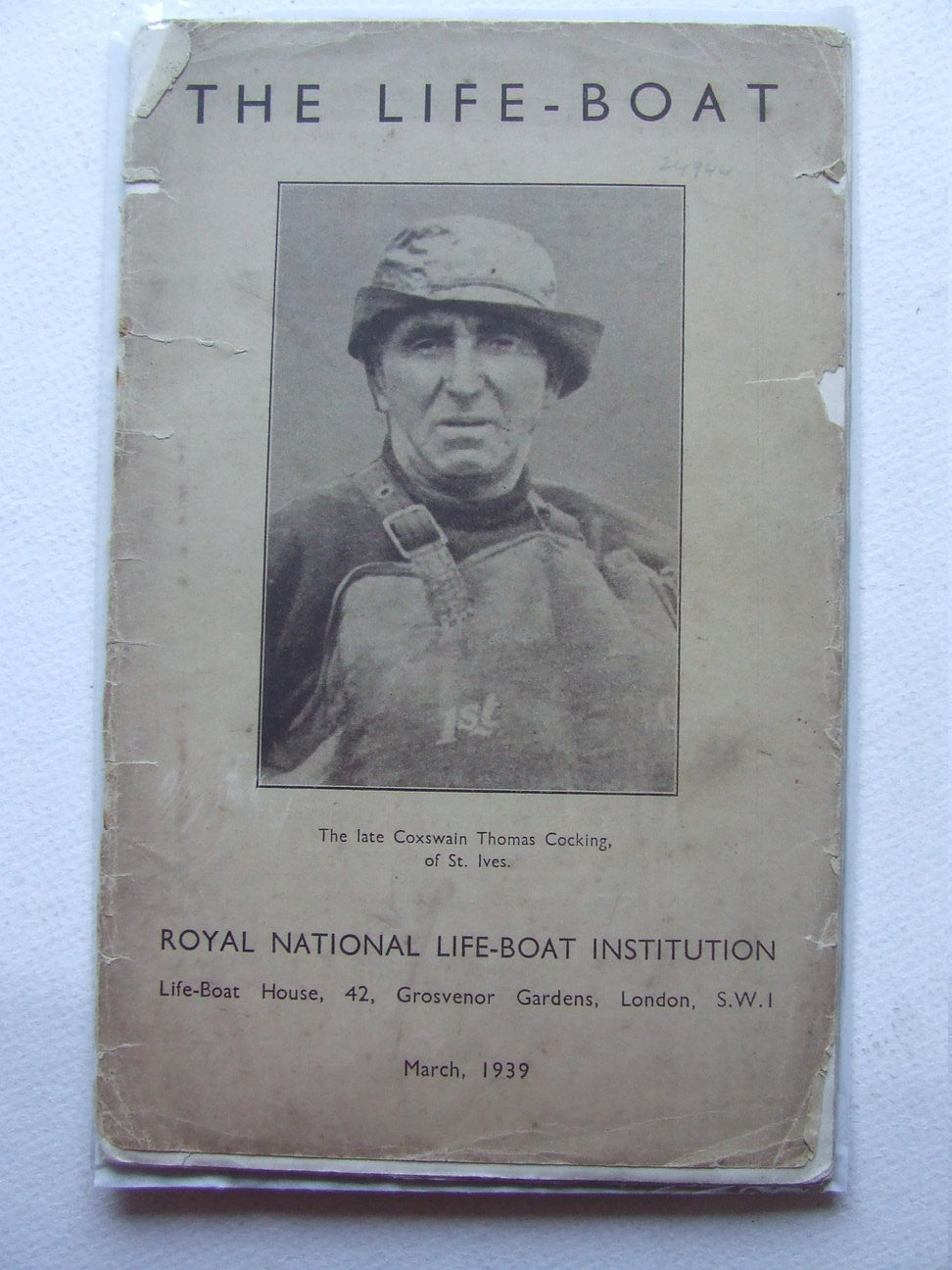 The Life-Boat, the journal of the Royal National Life-boat Institution