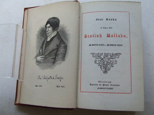 Four Books of Choice Old Scottish Ballads, MDCCCXXIII - MDCCCXLIV