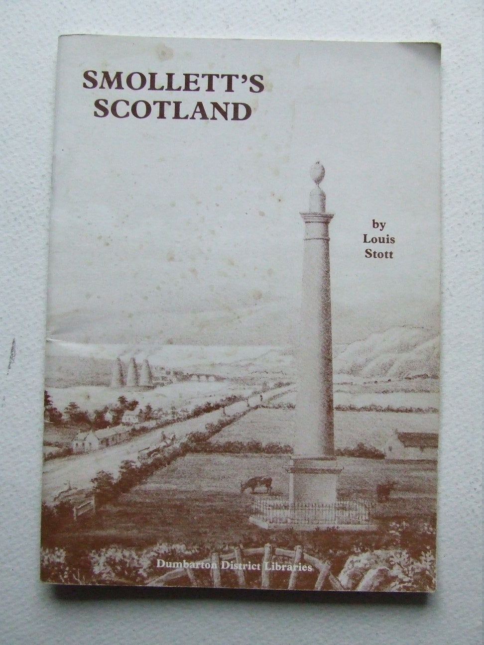 Smollett's Scotland, an illustrated guide for visitors